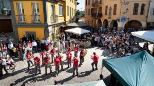 Typisch dorp Langhe Piemonte