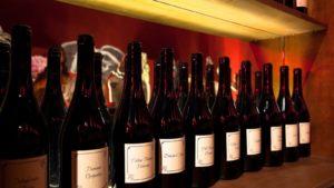 Wijnmuseum Barolo wijnflessen