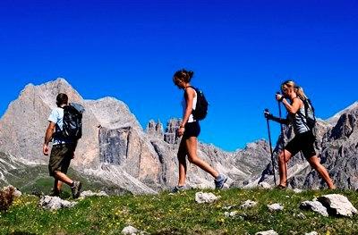 Wandelen in de bergen Italië