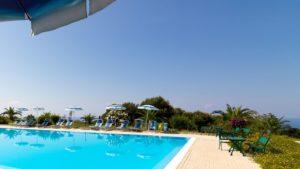 Agriturismo Ninea capo vaticano zwembad
