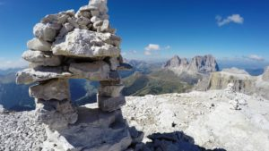 Panoramische uitzicht Dolomieten