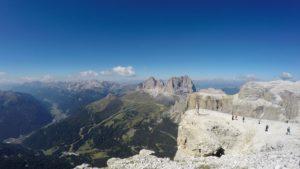 Uitzicht Dolomieten