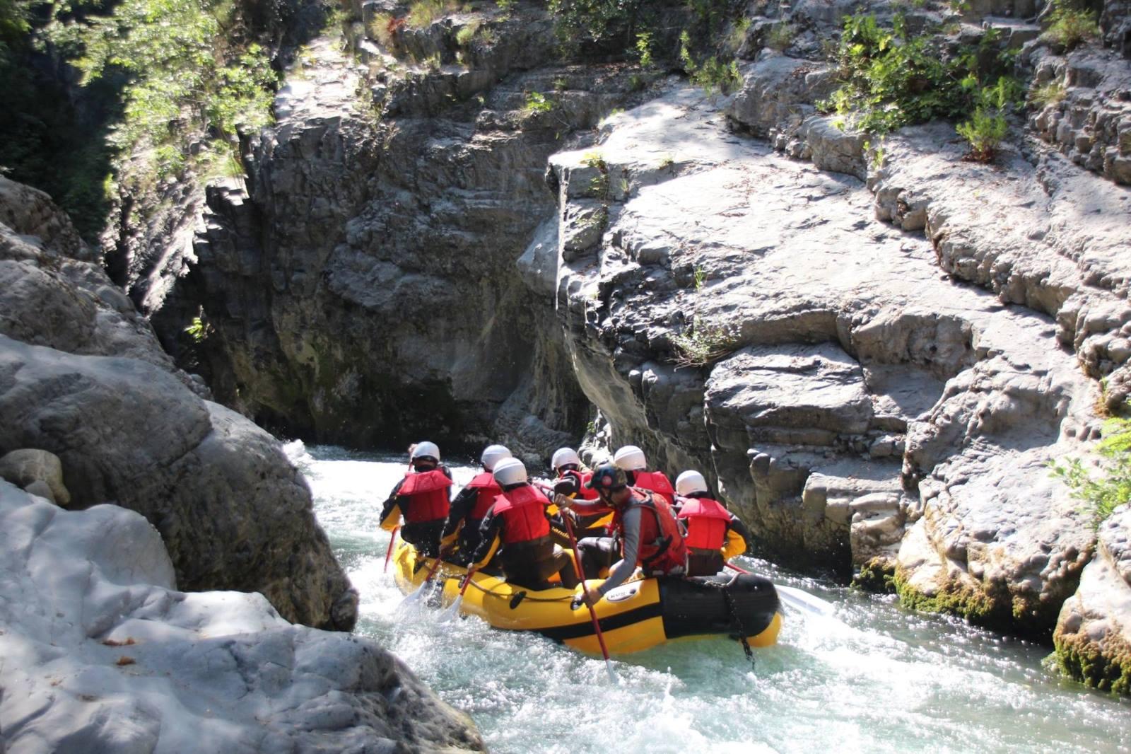 Excursie rivier Lao - Calabrië actief