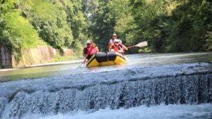 Excursie rivier Lao - rafting