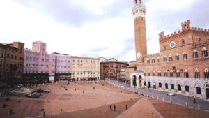 Siena, via Francigena