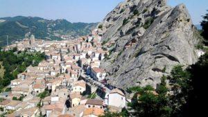 Castelmezzano uitzicht