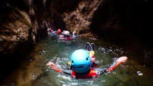 Canyoning rivier canyoning Dolomieten