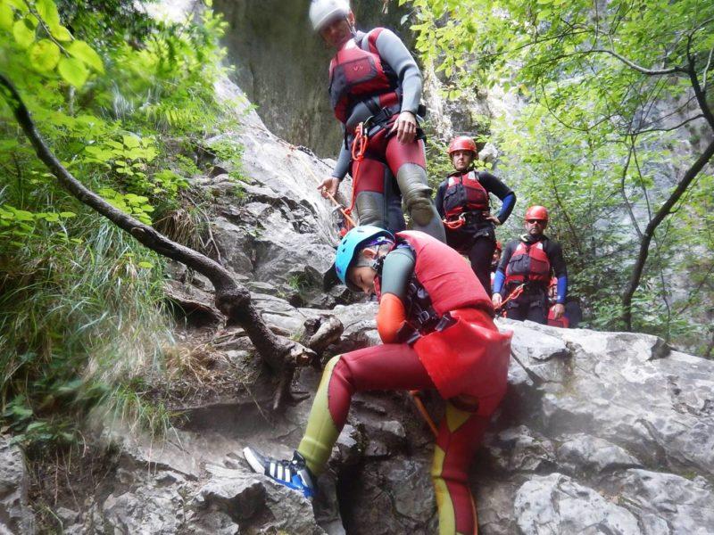 Canyoning Dolomieten