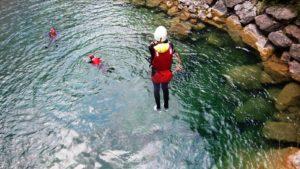 Rivier Canyoning Dolomieten