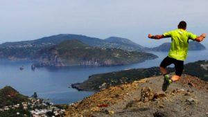 Wandelen op een vulkaan in Sicilië