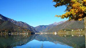 Ledro meer Trentino Italie
