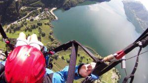 Paragliding Ledro meer