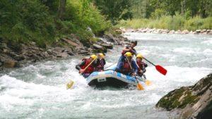 Rafting Dolomieten Italië