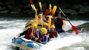 Rafting zuid Tirol