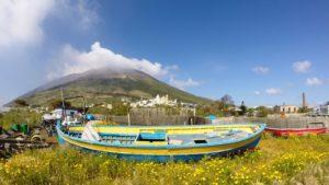 Vulkaan Stromboli wandelreis