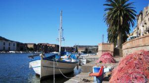 haventje Bosa Sardinie