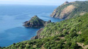 kust Bosa Sardinie