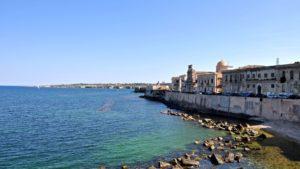 Siracusa ortigia zee