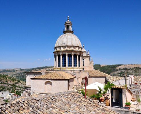 Sicilië daken stadje