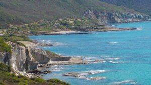 Sardinië kust bij Bosa