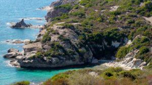 Sardinië Bosa baai