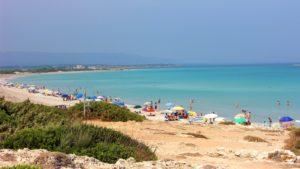 Fietsen langs de kust zuid-oost Sicilie