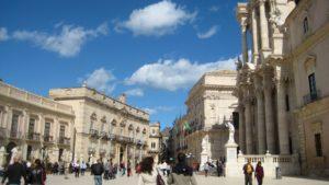 Sicilie Siracusa piazza