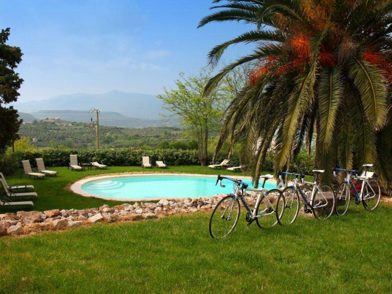 Fietsen bike hotel Asfodeli