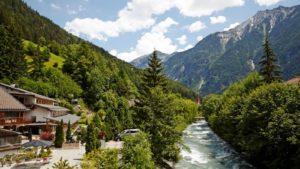 Aurina rivier - zuid-Tirol