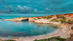 Sinis schiereiland Sardinië