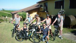 E-bike fietsreis langhe groepje