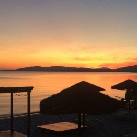 Alghero zonsondergang