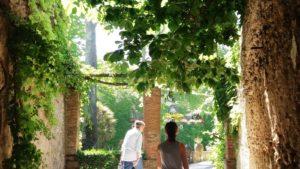 Ravello villa Cimbrone - tuinen