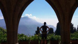 Ravello villa Cimbrone - uitzicht
