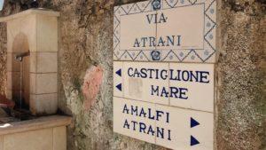 wandelen langs de Amalfikust