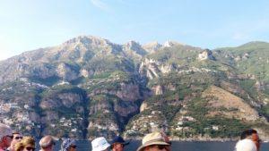 ferry van Positano naar Amalfi