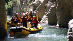 Rafting Calabrië familiereis