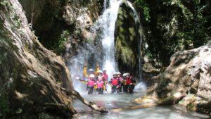Waterval: excursie familiereis