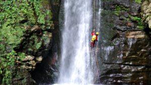 Canyoning Calabrië Aspromonte