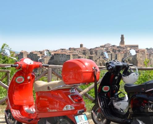 Vespa Tour Toscana